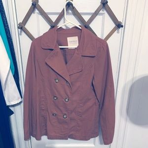Double Breasted Brown Blazer